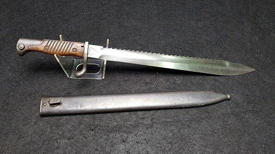 Baïonnette Mauser 98-05 a dents de scies