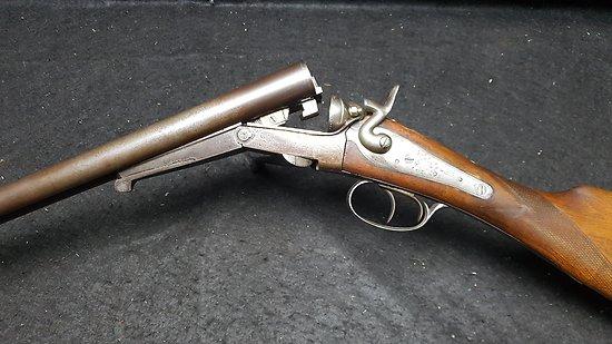 Fusil a chiens calibre 16