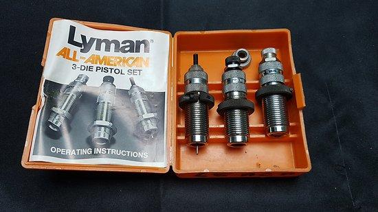 Jeux d outils LYMAN 45 ACP