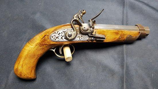 Pistolet a silex 12mm PN