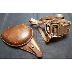 Holster / étui jambon pour revolver 1892 avec son ceinturon