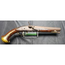 Pistolet a silex Louis XV