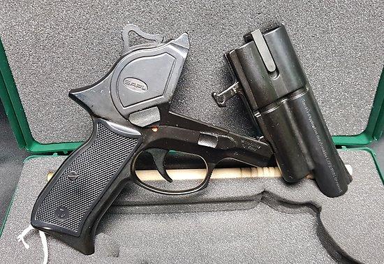 Pistolet gomme cogne GC54 double action