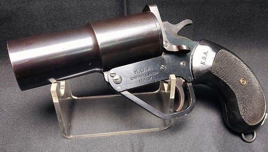 Rare pistolet lance fusée Italien 40mm *** K.O.A ***