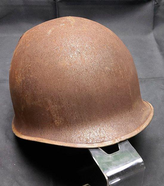 Coque de casque impactée  M1 US pattes fixes