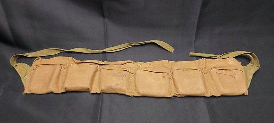 """Cartouchière d allègement US ww1 Remington Arms """" BANDOLEER"""""""