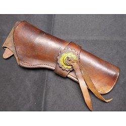 Holster western pour revolver poudre noire