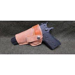 Holster / étui cuir pistolet *** colt 45 ***