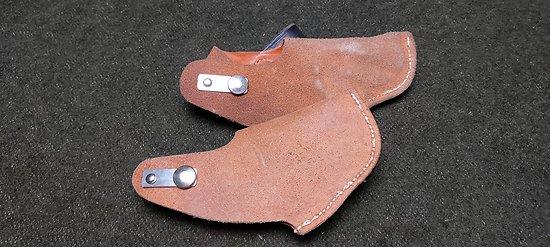 Holster / étui cuir pour pistolet 6.35