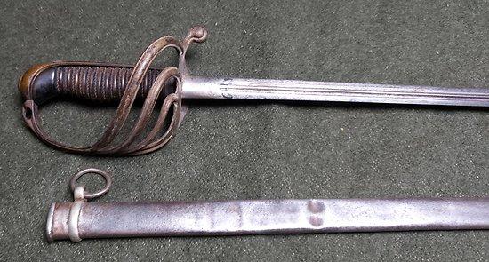 Variante du Sabre 1882 Officier Infanterie