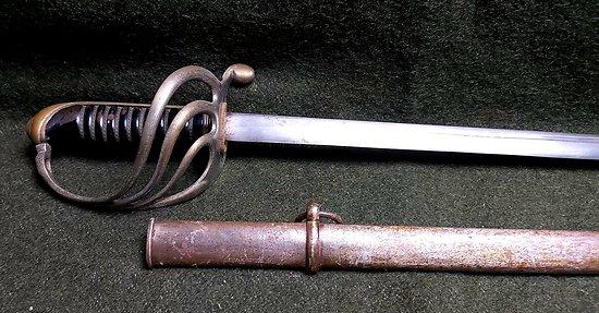 Sabre 1882 Officier Infanterie