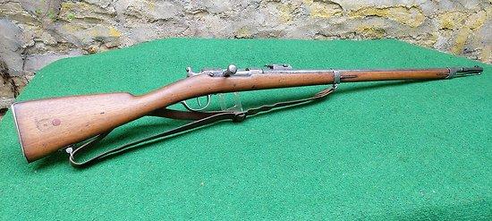 Fusil Chassepot 1866 d instruction série X