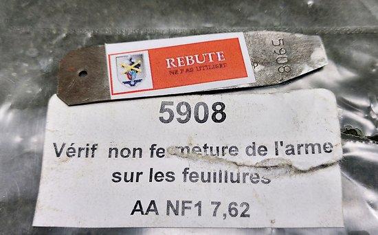Vérificateur non fermeture (feuillure) AA NF1