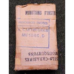 RARE munitions d instruction LEBEL 1886 D