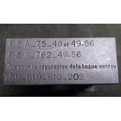 Tas pour la réparation de la bague de verrou  MAS 49