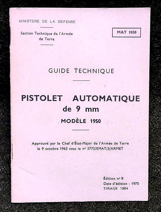 Guide technique MAC 50