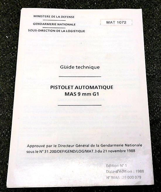 Guide technique PA MAS G1