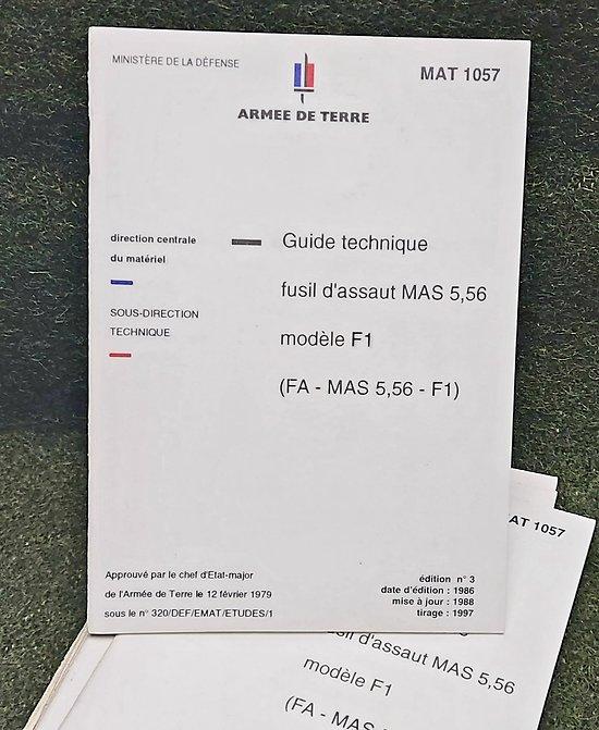 Guide technique FAMAS F1