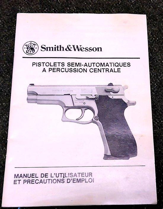 Livret technique SMITH & WESSON 59