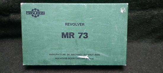 Boite d origine Manurhin MR73