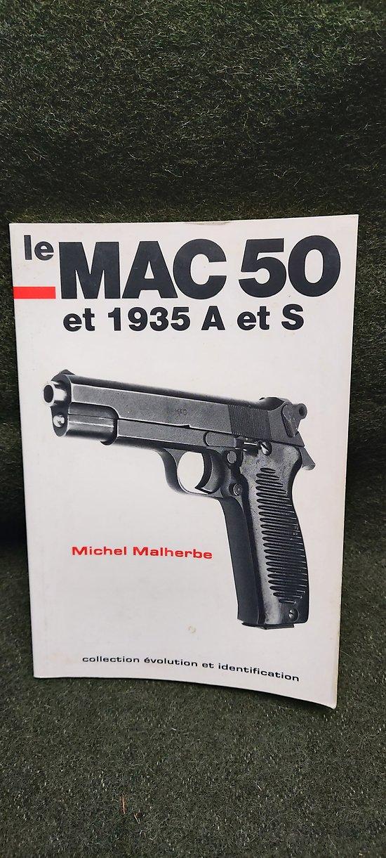"""Livre """" Le MAC 50 et 1935 A et S """""""