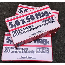 Munitions 5.6x50 MAG
