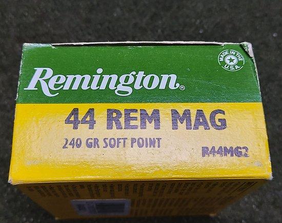 Munitions 44 rem Mag