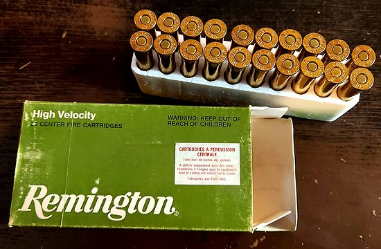 Munitions 25-35 Winchester