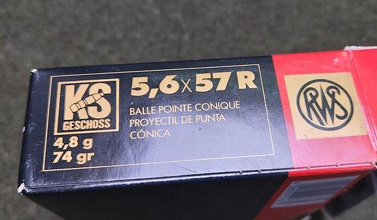 Munition 5.6 x 57R