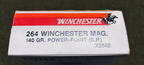 Munition 264 Winchester MAG