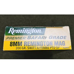 Munitions 8mm REMINGTON Mag