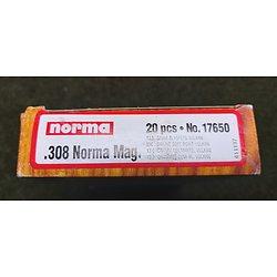 Munitions 308 NORMA Magnum