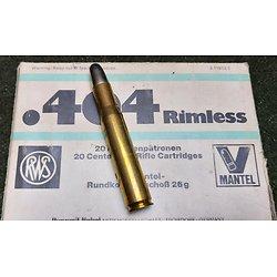 X1 cartouche 404 Rimless