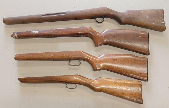 Lot de 4 crosses pour carabines 22lr