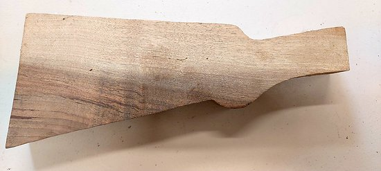 Ebauche de crosse / bois maquette (3)