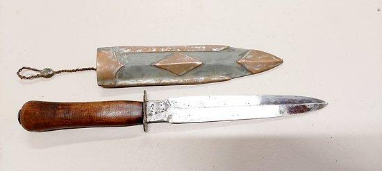 """Couteau de tranchée """" Le Vengeur """" personnalisé"""