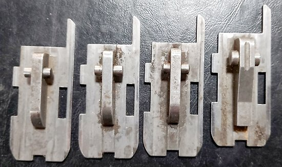 Plaque de verrouillage de culasse fusil  RAPID MANUFRANCE
