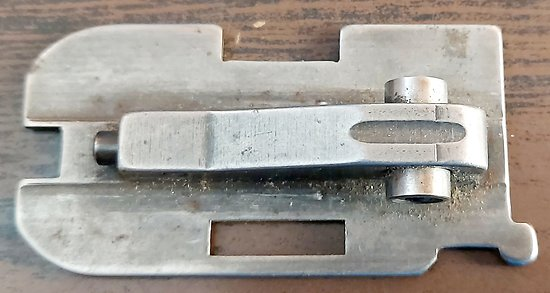 Plaque de verrouillage de culasse fusil PERFEX MANUFRANCE