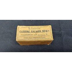 Boite de cartouches 30 M1 WW2