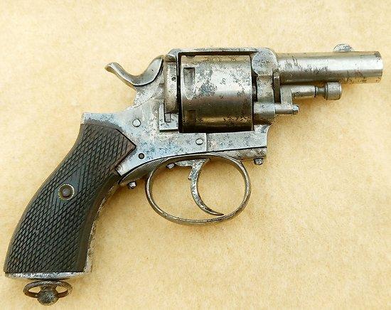 Revolver bulldog British constabulary