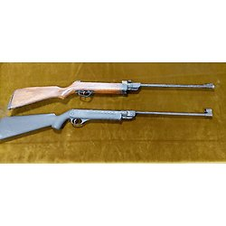 Lot de 2 carabines 4.5 air comprimé