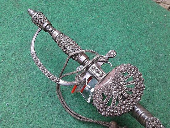 épée de cérémonie anglaise 19eme PEARCE & SONS clifford st