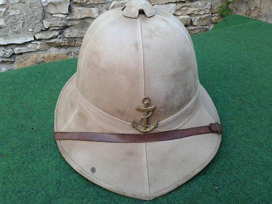 casque tropical anglais 1942 utilisation française fin de guerre et indo