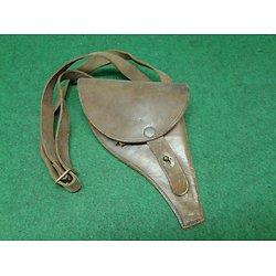 holster / étui cuir pour revolver d ordonnance M1892 + brelage