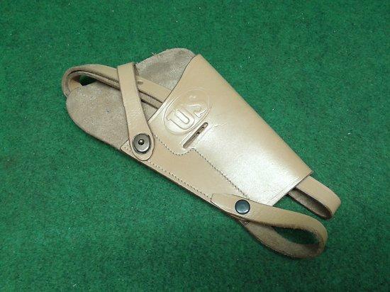 Holster / étui cuir d épaule  pour US  colt 45 1911 / 1911 a1 BOYT 42 pilote