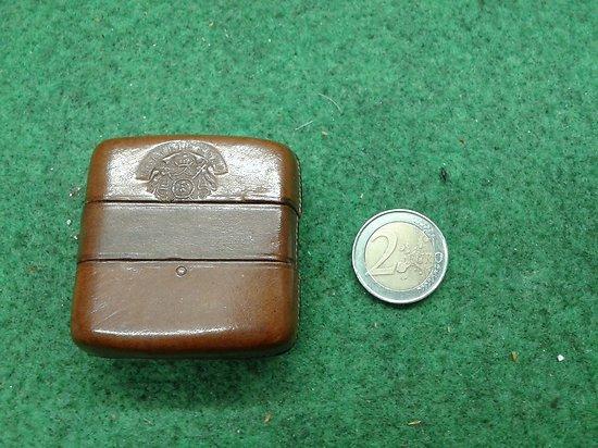 petite cartouchière de poche 7mm Napoléon III second empire