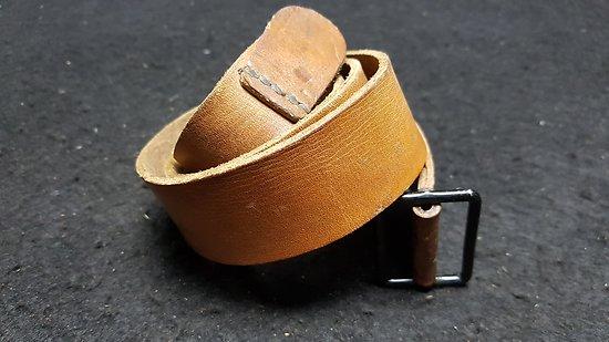 Bretelle cuir fauve fusil LEBEL / BERTHIER