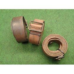 Bretelle cuir brun fusil LEBEL / BERTHIER