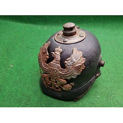 Casque a pointe original 1915 pickelhaube