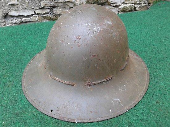 """WW2 casque anglais protection civile  1941 """" zuckerman"""""""